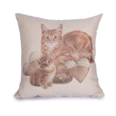 cuscino arredo digitale gatti