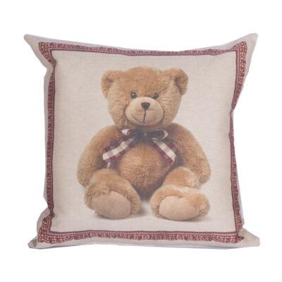 cuscino arredo digitale orsetto peluche