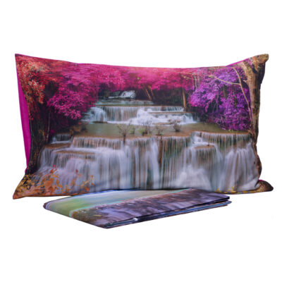 parure lenzuola stampa digitale cascata waterfall