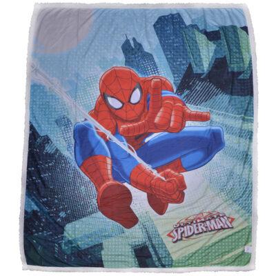 plaid-agnellato-pellicciotto-caleffi-marvel-spiderman-2