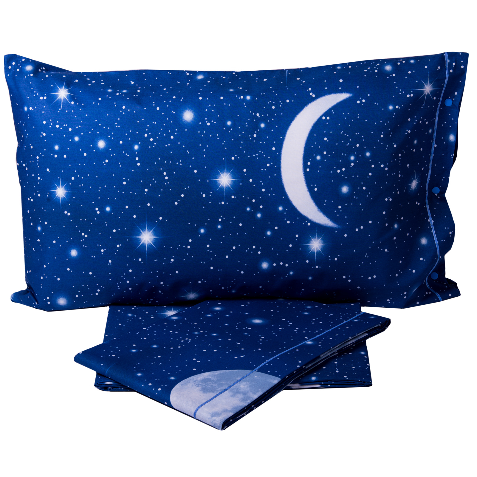1aff467b58 Completo Copripiumino BASSETTI Sweet Moon Si Illumina al Buio - Cose ...