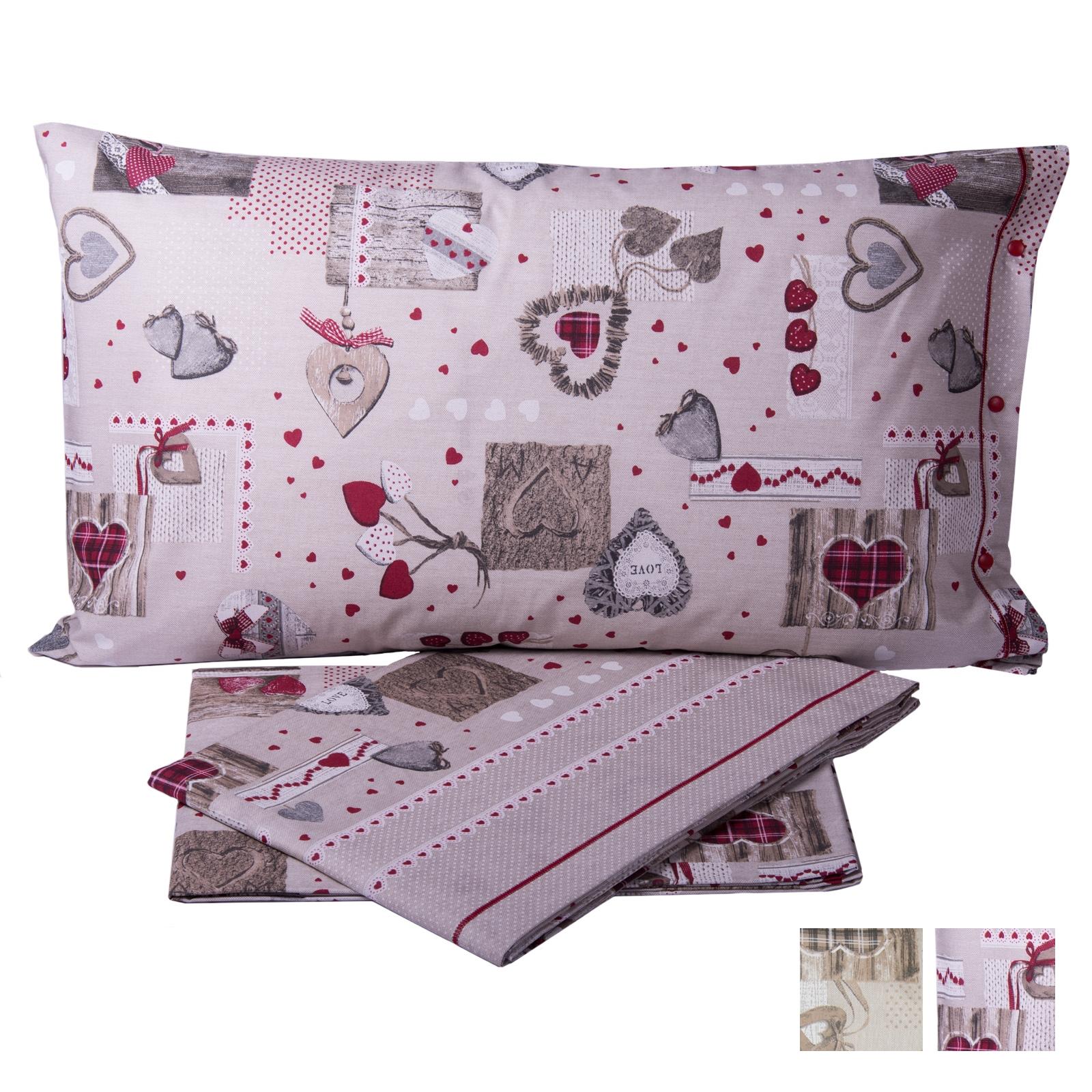 Completo lenzuola in puro cotone nativ cose di casa un for Cose di casa shop on line