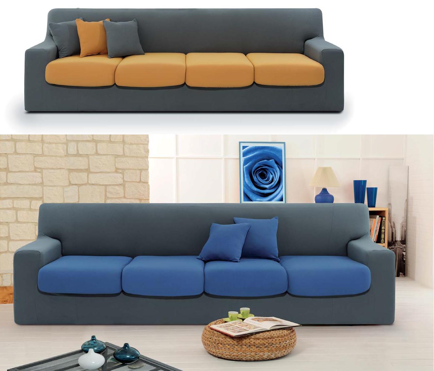 Copridivano sof cover biestensibile unito cose di casa un mondo di accessori per la casa - Copricuscini per divano ...