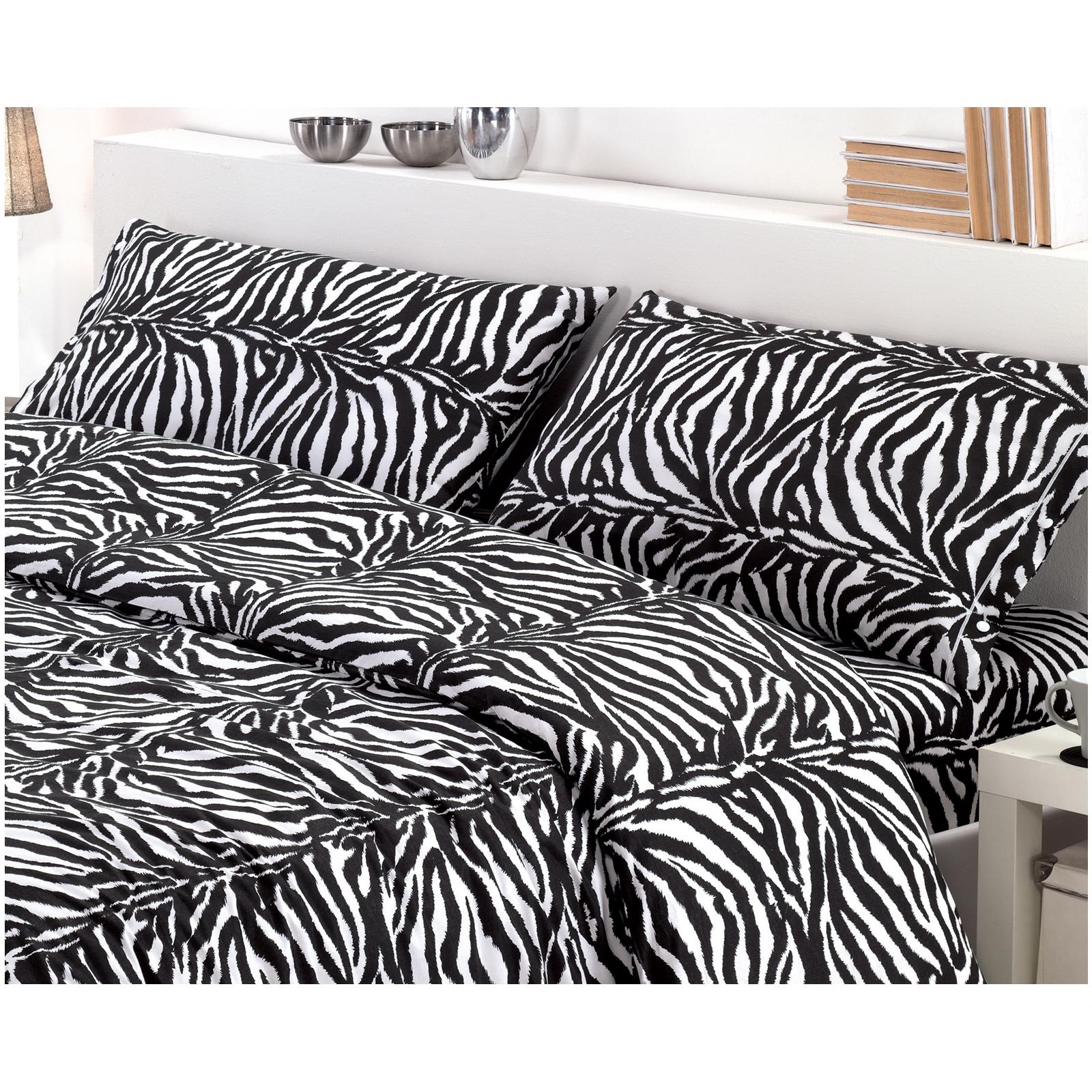 Lenzuola Copripiumino.Copripiumino In Puro Cotone Savana Zebra Cose Di Casa Un Mondo