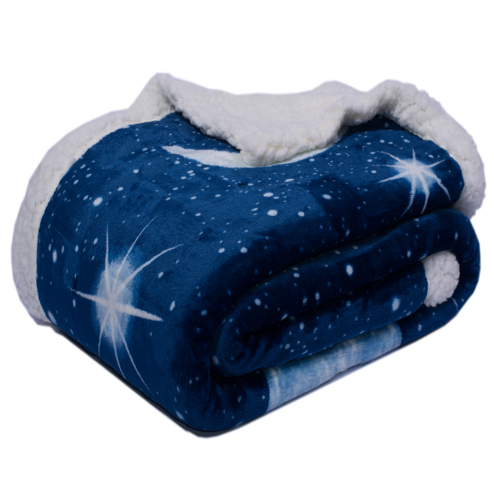 Plaid coperta morbidissima cielo stellato cose di casa for Piani di coperta coperta
