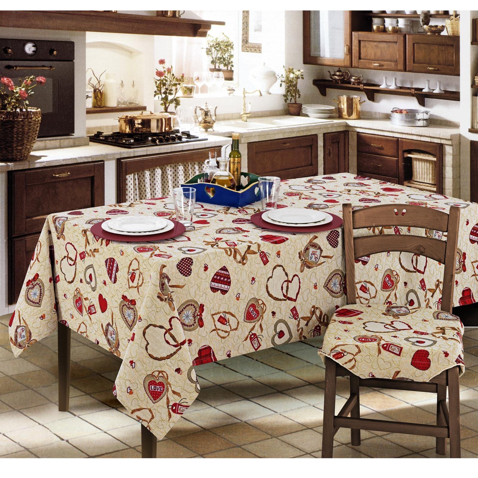 Cuscini Per Sedie Cucina Con Alette.Cuscino Sedia Alette Gobelin Love Cose Di Casa Un Mondo Di