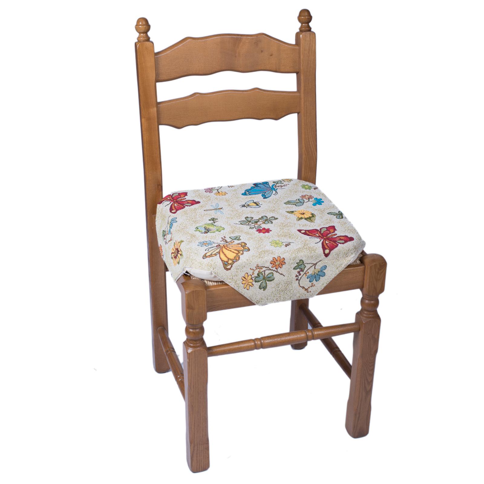 Cuscino sedia alette gobelin farfalle cose di casa un for Federe cuscini arredo