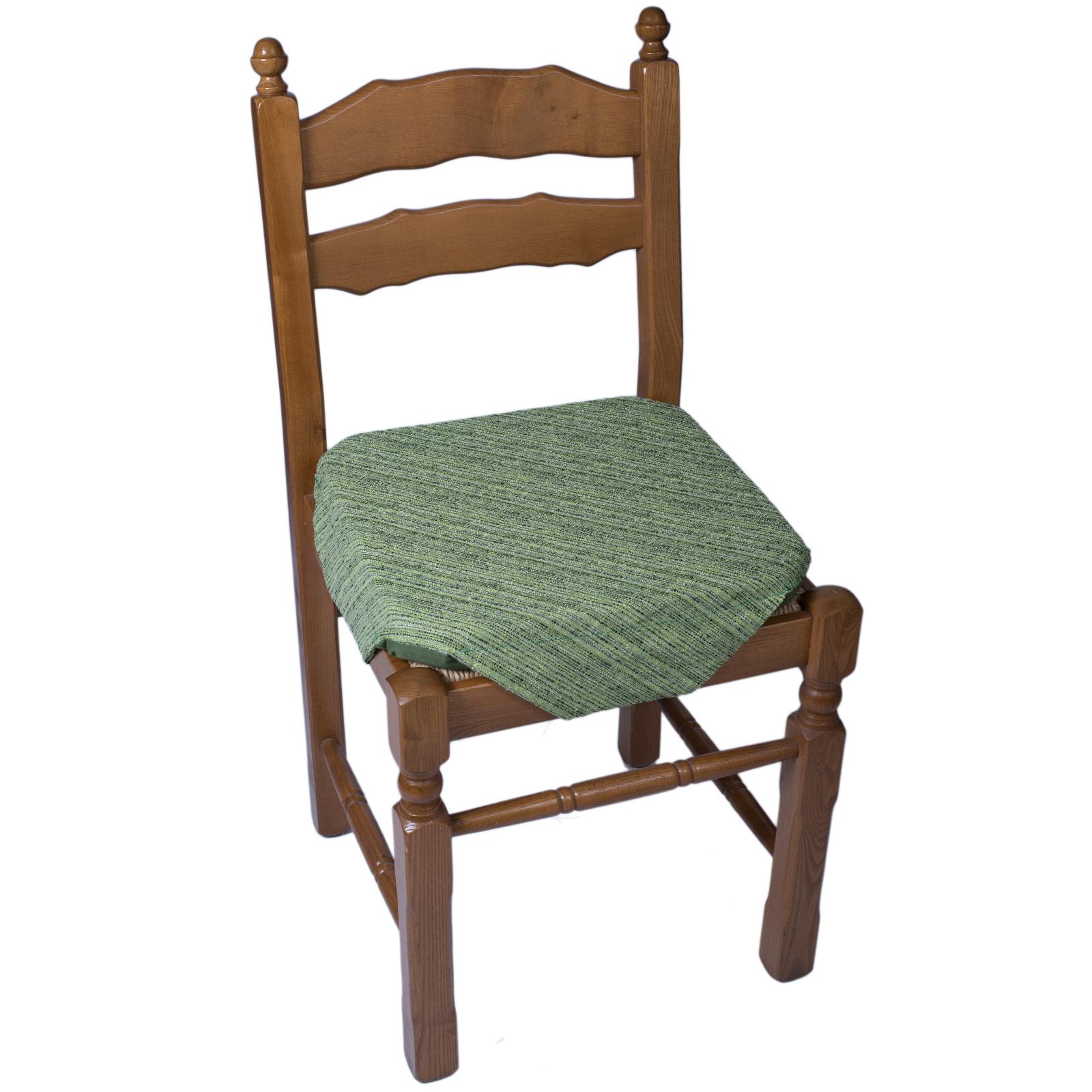 Cuscino sedia alette melange verde cose di casa un for Sedia a dondolo verde