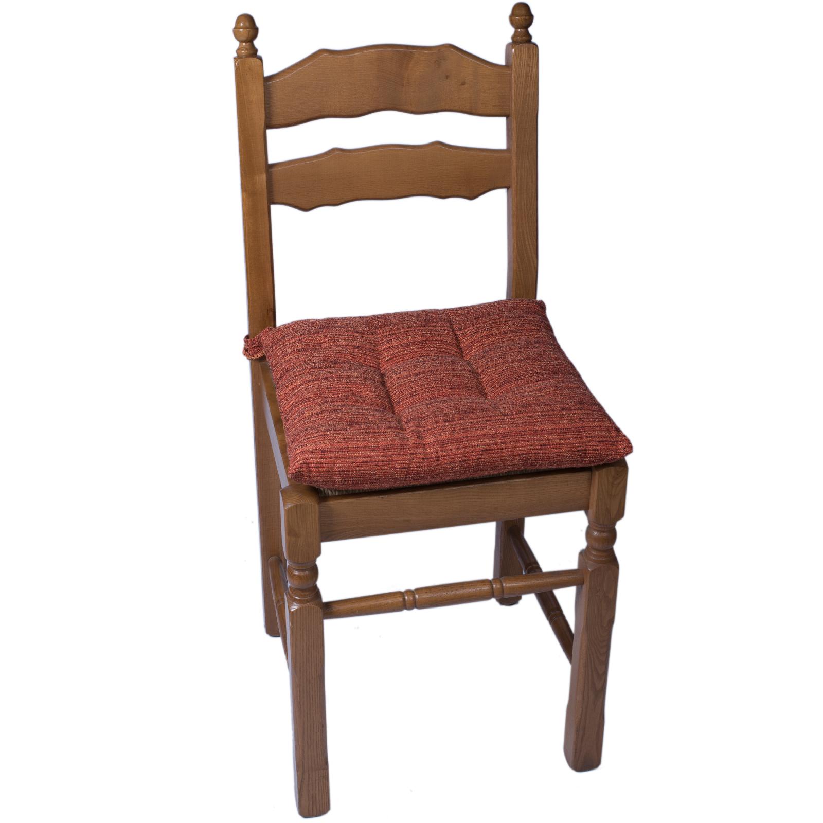 Cuscino sedia morbidotto melange cose di casa un mondo - Cuscino per sedia viola ...