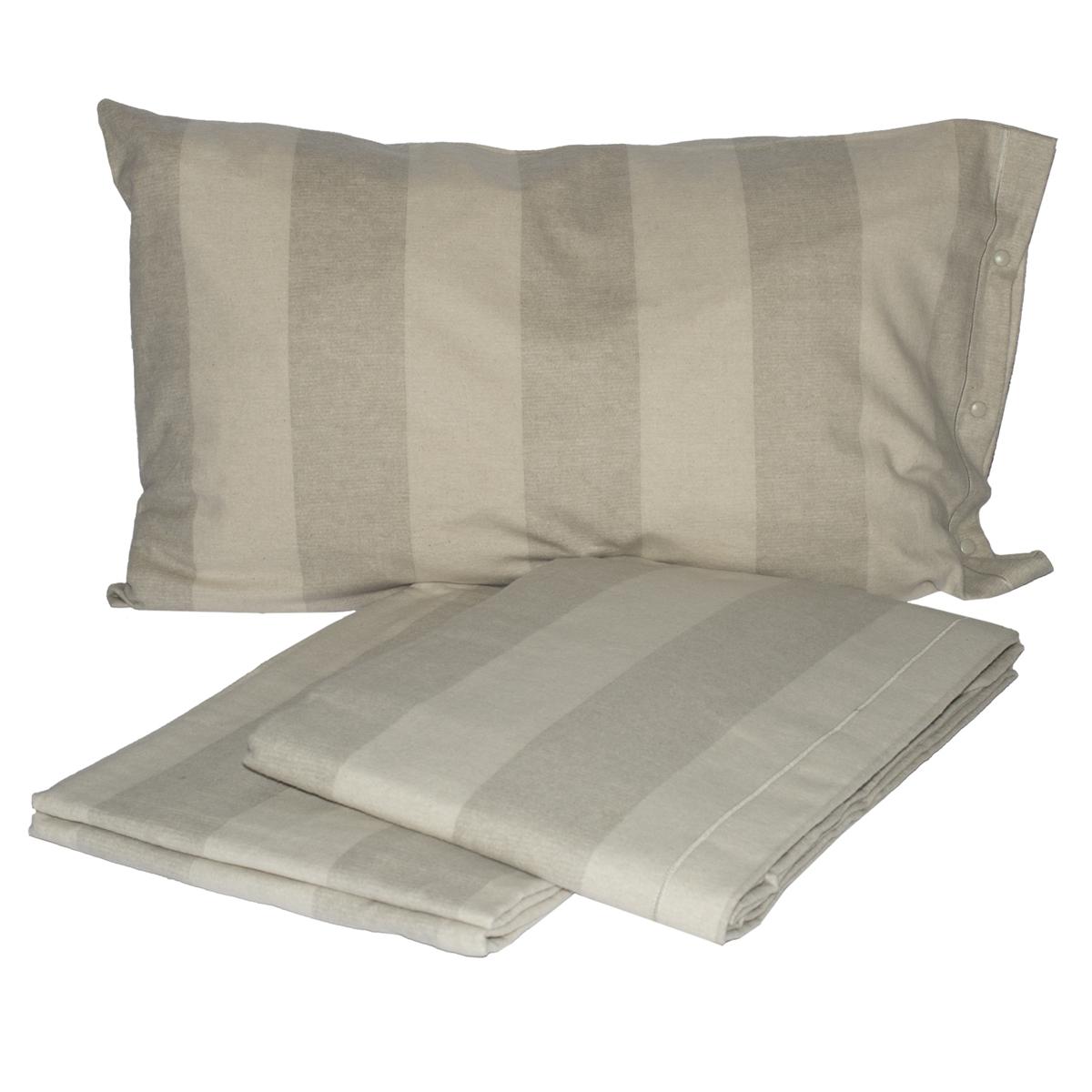 Completo lenzuola in flanella lyne cose di casa un - Ikea lenzuoli matrimoniali ...