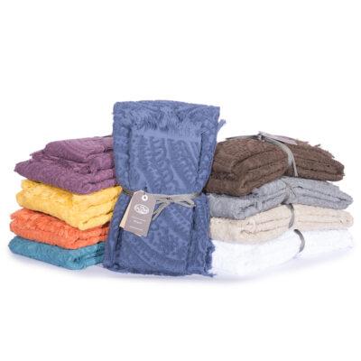 asciugamani viso ospite fazzini spugna