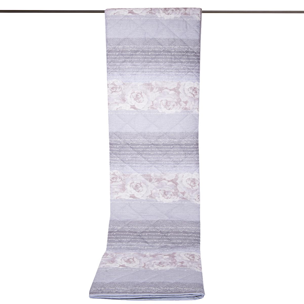 Copriletto trapuntato trapuntino cotone fiori grigio cose di casa un mondo di accessori per - Cose di casa mondovi ...