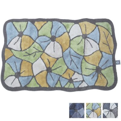 Tappeto Antiscivolo Cotone Floris Multicolor 1