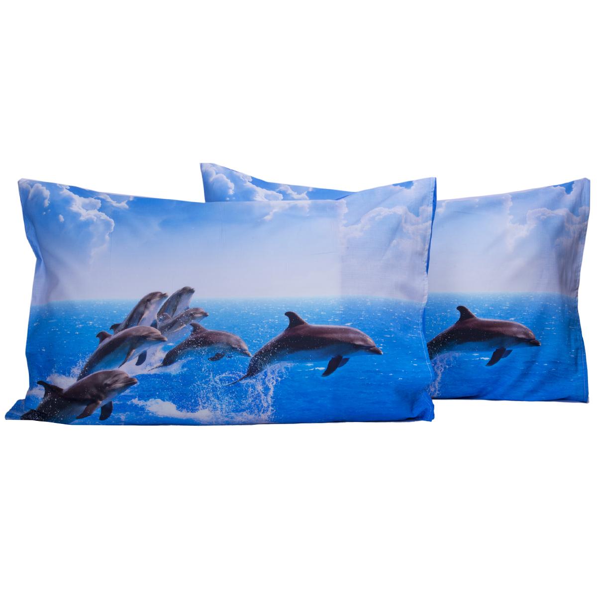 Camera Da Letto Fazzini : Coppia federe con stampa digitale delfini cose di casa