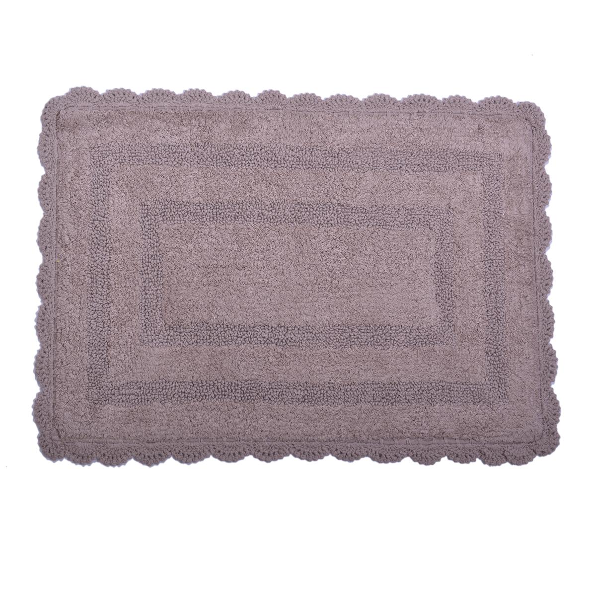 Tappeto con pizzo in cotone mexico cose di casa un mondo di accessori per la casa - Tappeto bagno marrone ...
