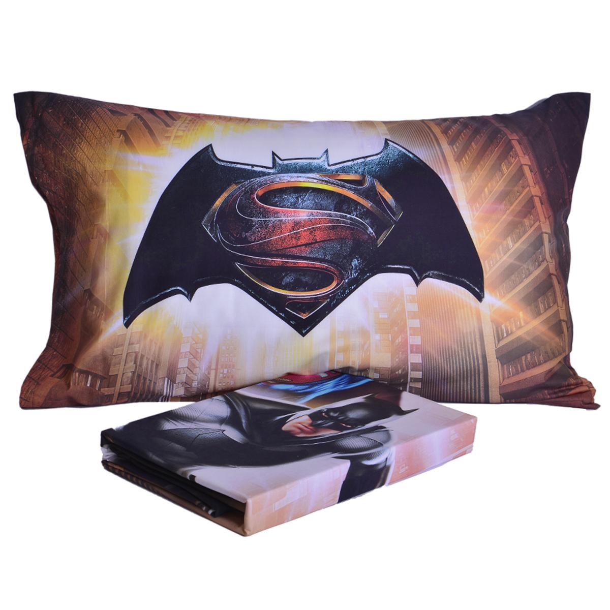 Copripiumino Superman.Bettwasche Completo Letto Superman Copripiumino Lenzuola Federa