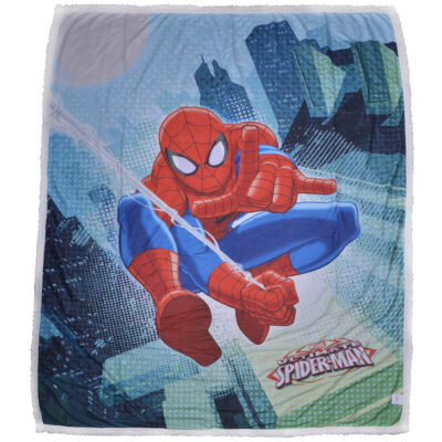 plaid-agnellato-pellicciotto-caleffi-marvel-spiderman-2