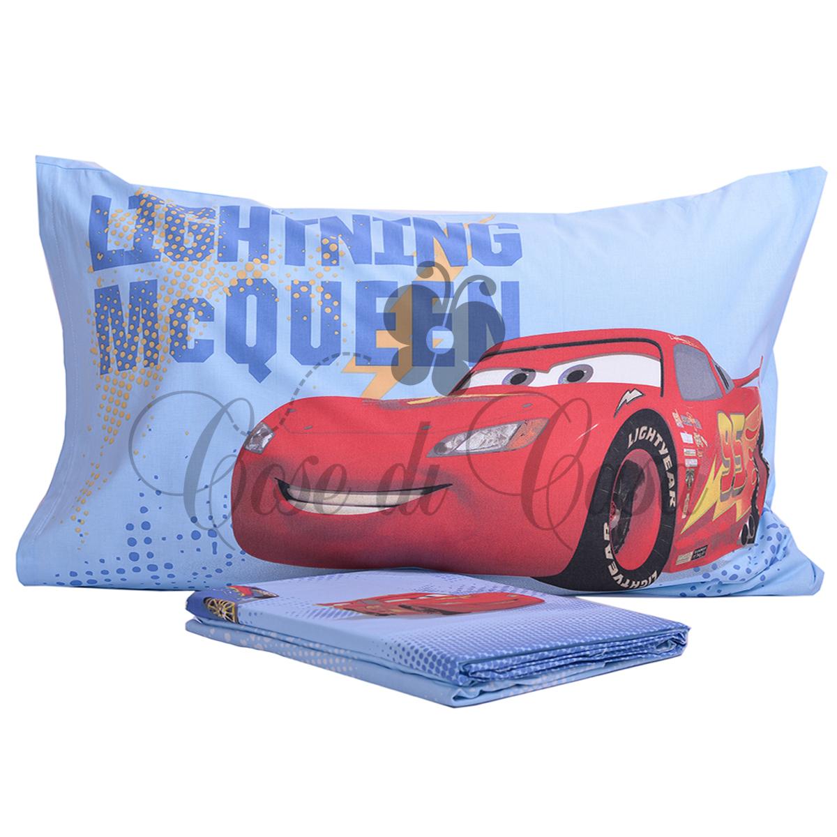 Completo lenzuola caleffi disney cars trend cose di casa un mondo