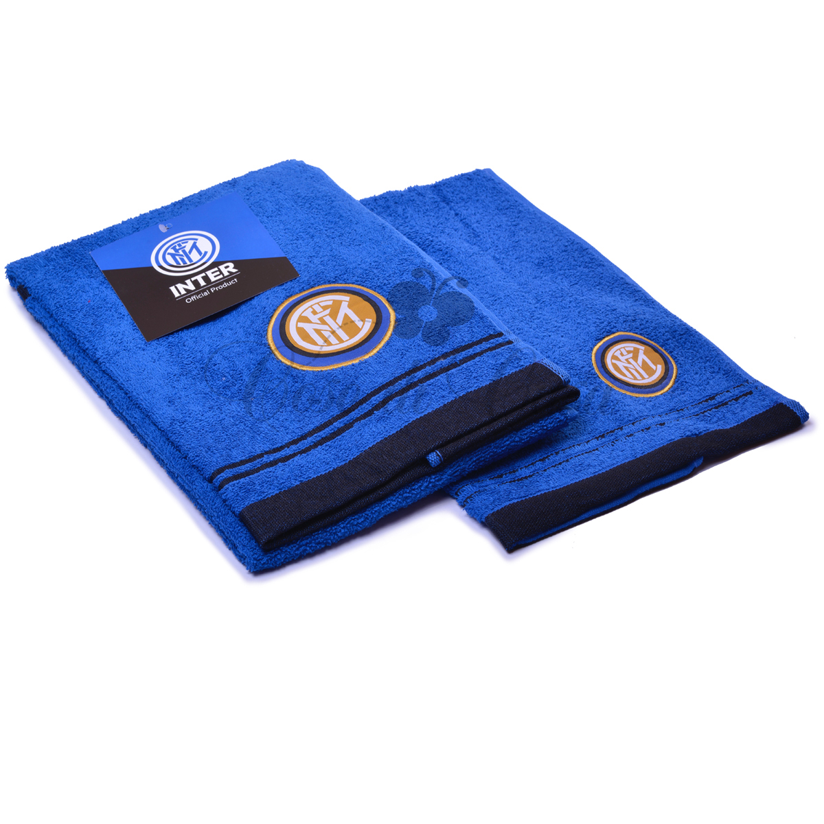 Set Asciugamano Viso Ospite Squadre di Calcio Inter