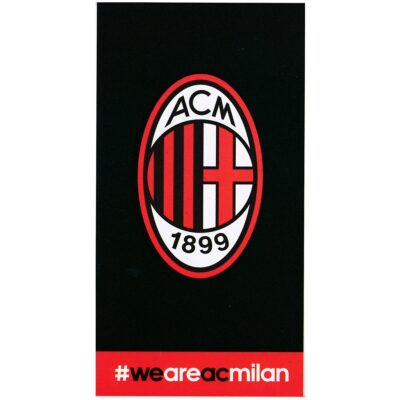 Telo Mare Spugna Squadre di Calcio Milan