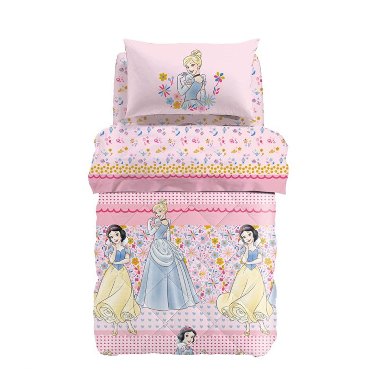 Trapunta Disney Princess Romance In Cotone Caleffi Cose Di Casa Un Mondo Di Accessori Per La Casa